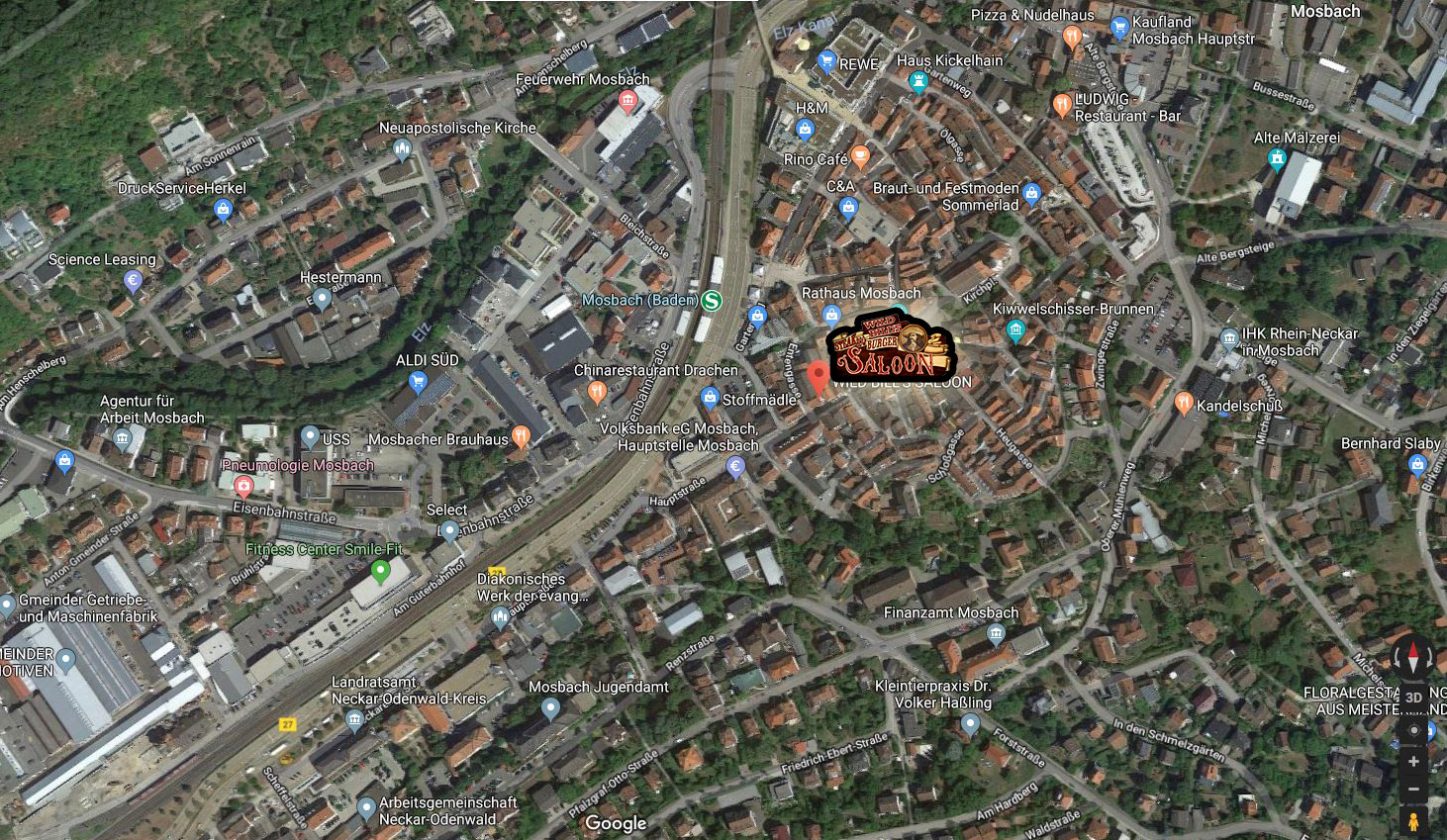 maps mosbach